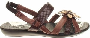Brązowe sandały May Be w stylu casual