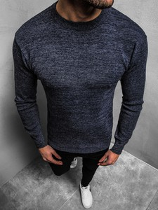 Niebieski sweter JACK DAVIS w stylu casual