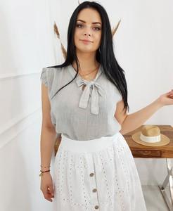 77c694ac163a07 lniane bluzki damskie - stylowo i modnie z Allani