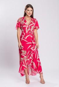 Sukienka Semper z krótkim rękawem maxi