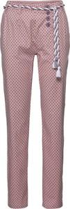 Różowe spodnie bonprix RAINBOW