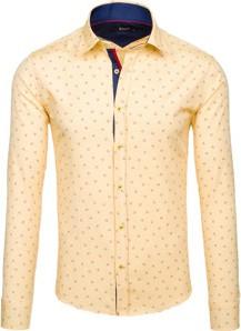 00048080e03f Żółte koszule męskie