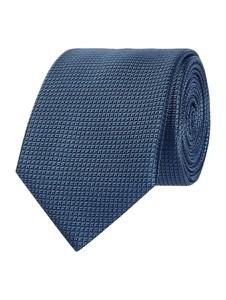 Niebieski krawat Jake*s z jedwabiu