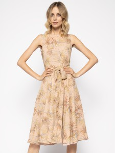 Brązowa sukienka Marella