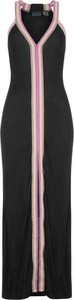 Czarna sukienka bonprix RAINBOW w stylu casual z dżerseju maxi