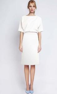 50990e456a pepitka sukienki. Sukienka Lanti z krótkim rękawem