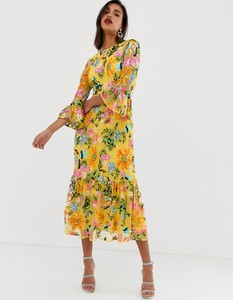 Żółta sukienka Asos Edition