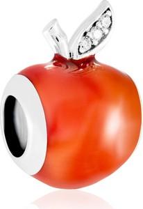 Murrano charms koralik srebrny rajskie jabłko