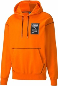 Pomarańczowa bluza Puma z bawełny