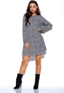 Sukienka Lemoniade z długim rękawem mini w stylu casual
