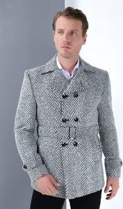 Płaszcz męski Dewberry w stylu casual