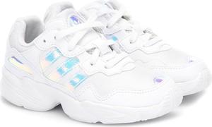 Trampki dziecięce Adidas w paseczki sznurowane