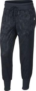 Niebieskie spodnie Nike z dresówki