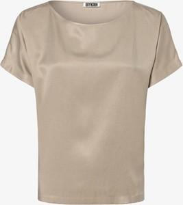 Brązowa bluzka Drykorn z krótkim rękawem