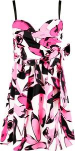 Sukienka Pinko mini z dekoltem w kształcie litery v
