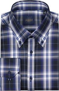Granatowa koszula Lavard z bawełny