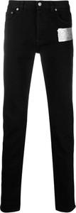 Czarne jeansy Givenchy