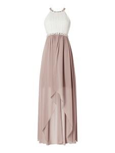 Sukienka Jake*s Cocktail z dekoltem w kształcie litery v bez rękawów maxi