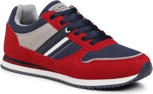 Czerwone buty sportowe Lanetti