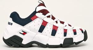 Buty sportowe Tommy Jeans ze skóry ekologicznej na platformie
