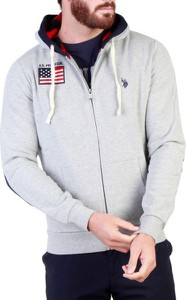 Bluza U.S. Polo w młodzieżowym stylu z bawełny