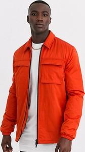Pomarańczowa kurtka Asos w stylu casual