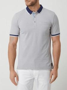 Koszulka polo Pierre Cardin z bawełny z krótkim rękawem