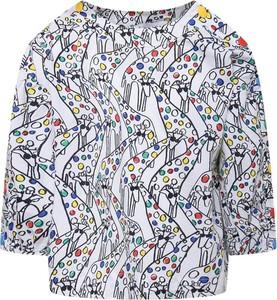 Bluzka dziecięca Stella McCartney z długim rękawem z bawełny dla dziewczynek