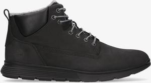 Czarne buty zimowe Timberland
