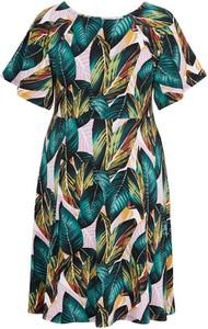 Zielona sukienka Zhenzi mini