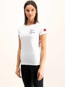 T-shirt Hugo Boss z okrągłym dekoltem z krótkim rękawem w stylu casual