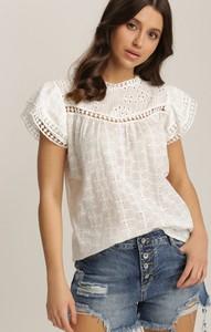 Bluzka Renee z krótkim rękawem z okrągłym dekoltem