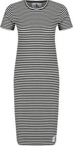 Sukienka Calvin Klein z okrągłym dekoltem midi