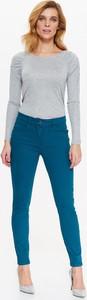 Niebieskie spodnie Top Secret z bawełny