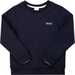 Granatowa bluza dziecięca Hugo Boss