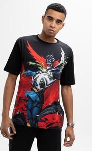 T-shirt Marvel z krótkim rękawem z bawełny