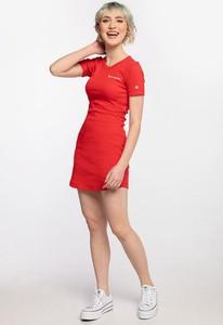 Sukienka Champion z krótkim rękawem mini