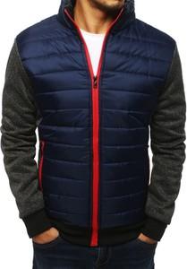 Niebieska kurtka Dstreet w stylu casual z bawełny
