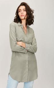Tunika FEMESTAGE Eva Minge w stylu casual z długim rękawem koszulowa