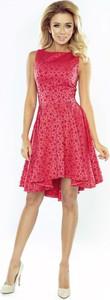 Czerwona sukienka Coco Style bez rękawów