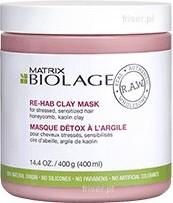 Biolage RAW Recover maska regenerujący włosy zniszczone 400ml