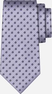 Fioletowy krawat wólczanka