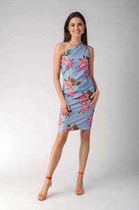 Sukienka Nommo ołówkowa bez rękawów