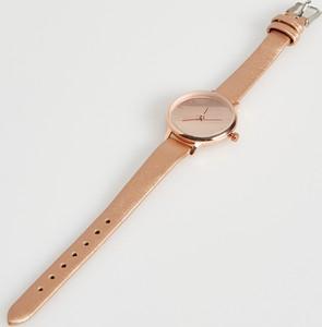 Sinsay - Złocisty zegarek - Brązowy