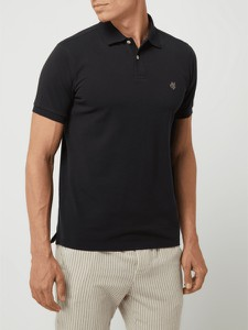Koszulka polo Marc O'Polo z bawełny z krótkim rękawem