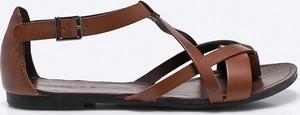 Brązowe sandały Vagabond w stylu casual