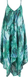 Niebieska sukienka bonprix bpc selection midi asymetryczna