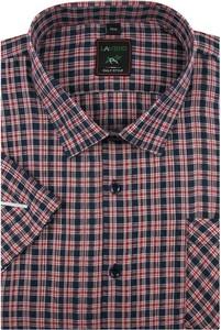 Koszula Laviino z krótkim rękawem z tkaniny