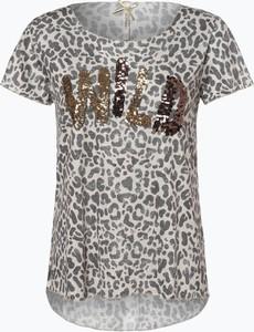 T-shirt Key Largo w stylu glamour z okrągłym dekoltem z krótkim rękawem