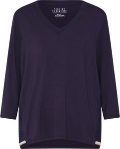 Granatowa bluzka S.Oliver Red Label